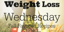 Weight Loss Wednesday: Fall Favorite Treats: CrazyFitMama.com