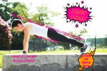 A perfect plank: CrazyFitMama.com
