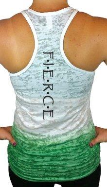 Women's Workout Fierce Ombre Burnout Shirt: CrazyFitMama.com